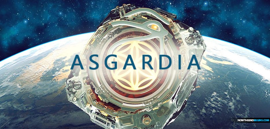 """A RUSSIAN billionaire is ramping up plans to save humanity in Asgardia by creating a floating """"garden of gods"""" in the Solar System for 15 million lucky people."""