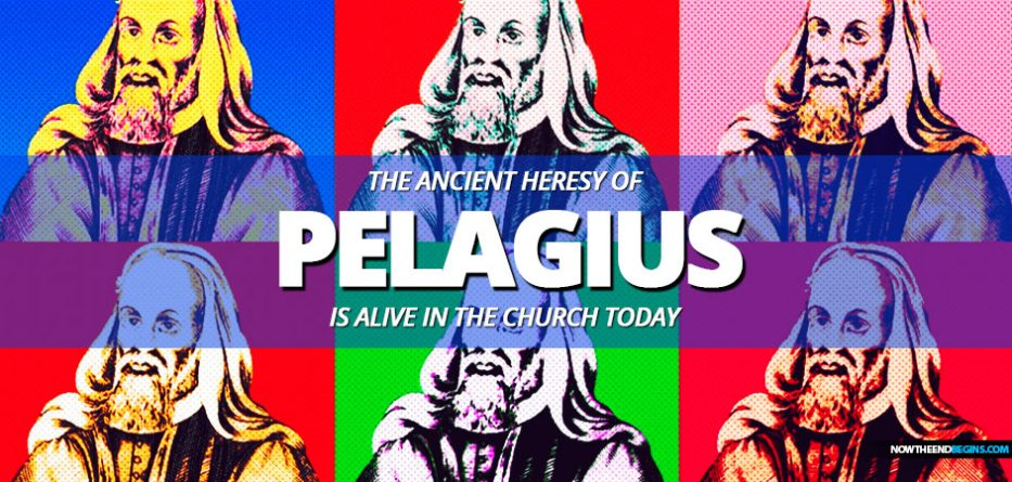 Pelagianism is named after a Catholic monk named Pelagius who was active in the early 400's AD. Pelagius denied original sin and taught that every person was born morally neutral: we are able to sin but also able not to sin. Pelagius said that human beings fall into sin by choosing to follow Adam's example.