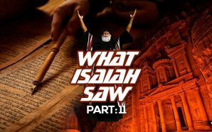 NTEB RADIO BIBLE STUDY: PART 11 OF THE PROPHECIES OF ISAIAH - SELAH PETRA