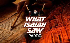 NTEB RADIO BIBLE STUDY: PART 11 OF THE PROPHECIES OF ISAIAH - SELAH PETRA