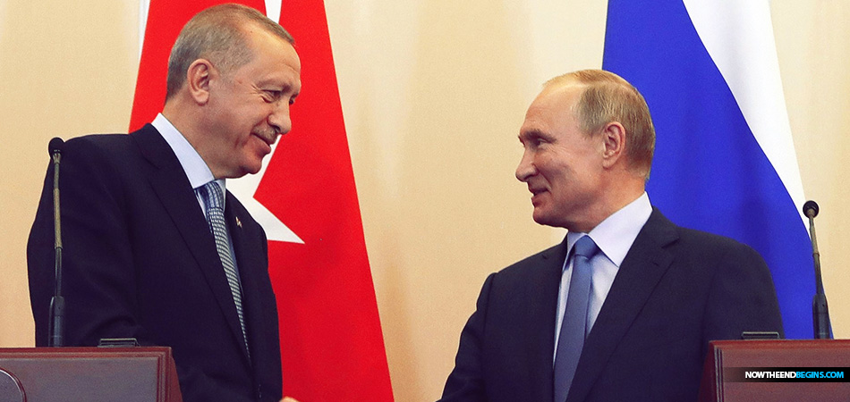 Ezekiel 39  Turkey And Russia Join Forces To Divide Up Northern Syria Between Themselves As