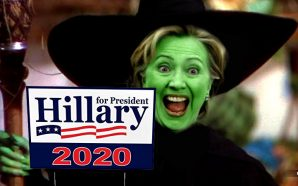 Crooked One Hillary Clinton leaves door open to 2020 run: 'We have to nominate best' candidate