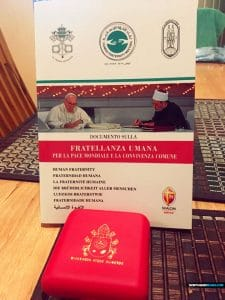 Pope Francis sends Chrislam gift to mosque