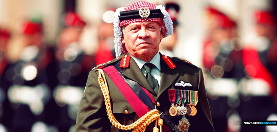King Abdullah said that Israel is not a part of the Middle East, and will not be considered as part of the Middle East, until they finally decide to give into international pressure and divide their land for the Palestinians. The irony of course being that the phony Palestinians are actually Jordanians who are pretending to be Palestinians in order to get rid of Israel. The rabbit hole goes very deep. Will Israel divide the land? Joel says they will, and it will be a major reason for the Battle of Armageddon
