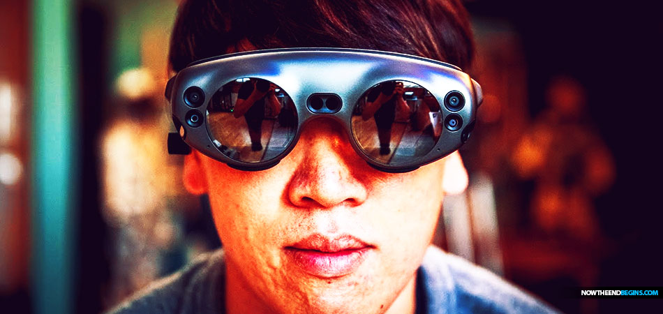 Magic Leap smart glasses augmented reality