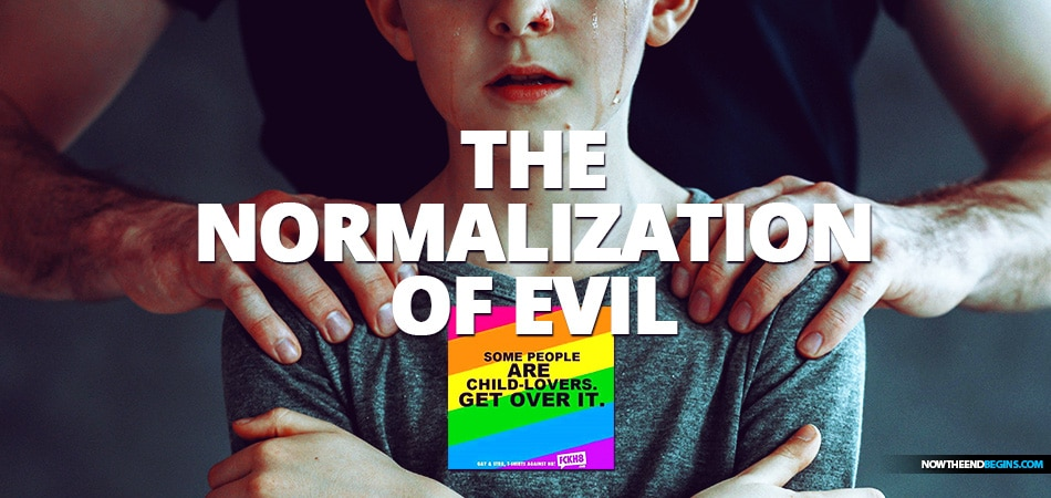 FACTIONS WITHIN THE LGBTQ+ MOVEMENT ARE EXERTING ENORMOUS PRESSURE TO NORMALIZE PEDOPHILIA AND 'DESTIGMATIZE' ADULT-CHILD SEX