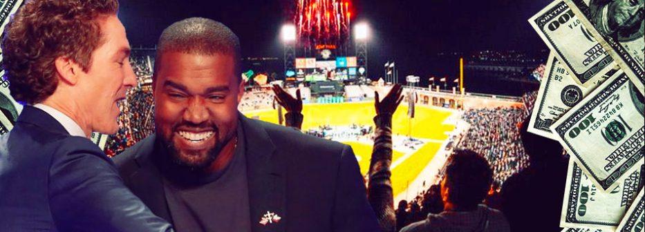 Kanye West joining Joel Osteen for Yankee Stadium event