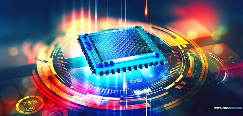 Information has been 'teleported' between two computer chips for the first time, a move that could lead to a more secure 'quantum internet', researchers claim.