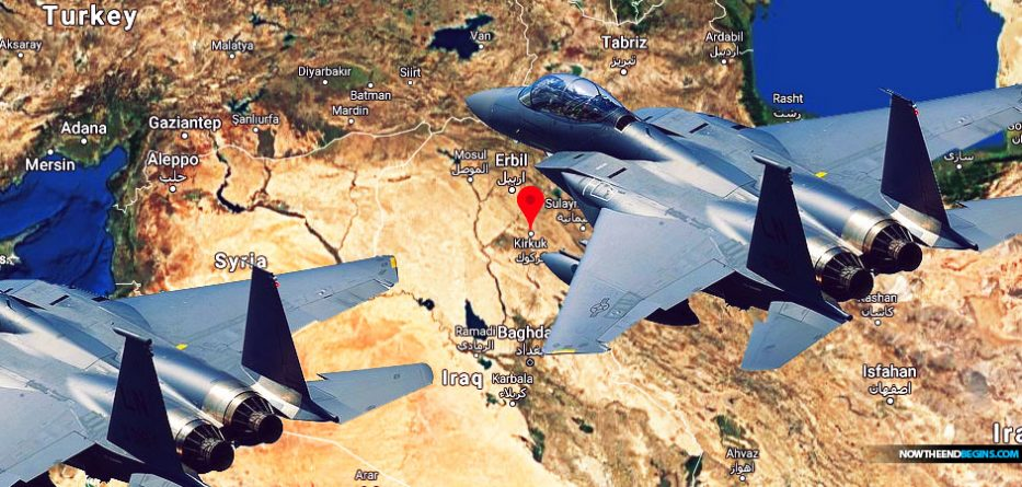 US airstrikes left 19 people dead in Iraq and Syria on Sunday in retaliation against an Iranian-backed militia group blamed for a rocket attack two days earlier that killed an American contractor.