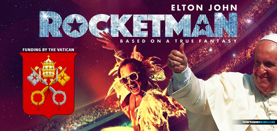 Vatican Invested Peter's Pence Funds in Elton John Biopic Rocketman