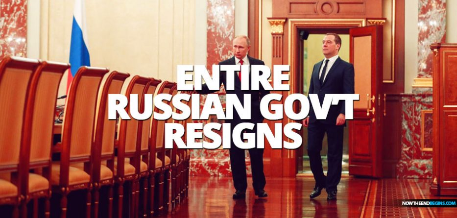 Russian government resigns after President Putin's state-of-the-nation address proposes changes to the constitution