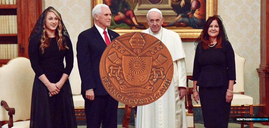 Mike Pence and Pope Francis meet in a surprisingly long first visit