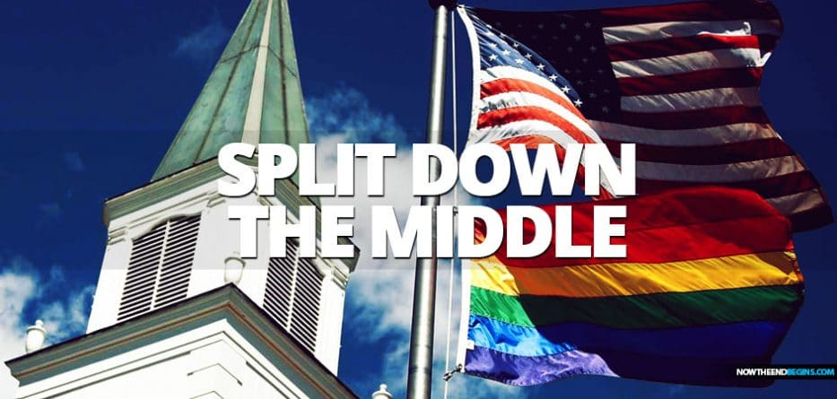 United Methodist Church is expected to split over gay marriage, fracturing the nation's third-largest denomination