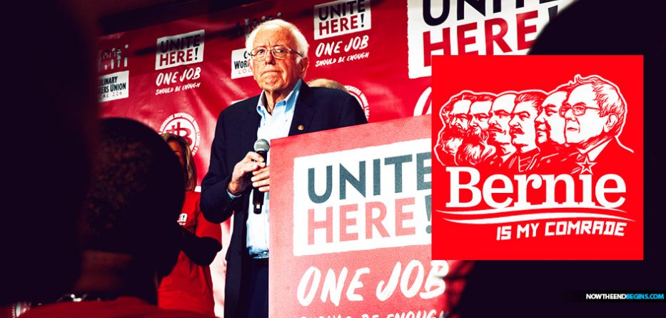 Donald Trump congratulated Comrade Bernie Sanders for his huge 54 percent Nevada caucuses lead, which put Sanders on course to crush his democratic rivals