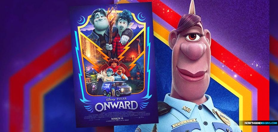 The upcoming movie 'Onward' in theaters on March 6, will feature a self-identified lesbian heroine named Officer Specter with a girlfriend, the first-ever animated LGBTQ+ character in the Disney Pixar universe.