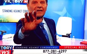 Prominent televangelist Kenneth Copeland would like people to believe that coronavirus can be cured through their TV sets, so long as those televisions are tuned into his show.