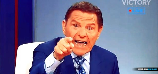 sleazy televangelist Kenneth Copeland warns followers that even if they lose their job because of the coronavirus pandemic they must keep giving him money because Jesus.