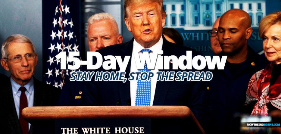 Trump issues new '15-day window' guidelines to stem coronavirus spread