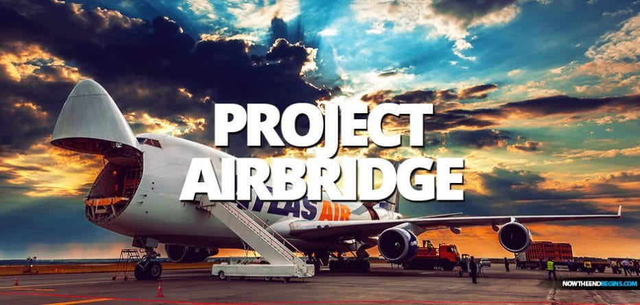 A Trump White House-led airlift in 'Project Airbridge' of urgently needed medical supplies arrives in New York City Coronavirus COVID-19