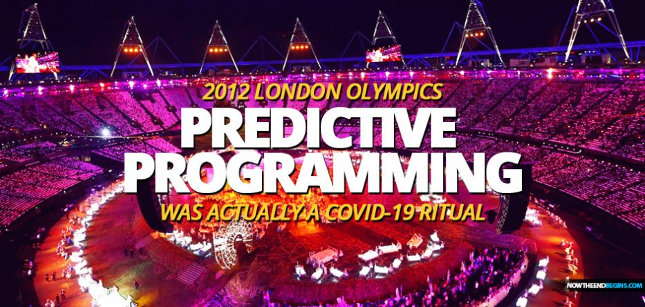 Dark And Sinister Opening Ceremony Of The 2012 London Olympics Used Predictive Programming To Show Us The Coming COVID-19 Plannedemic