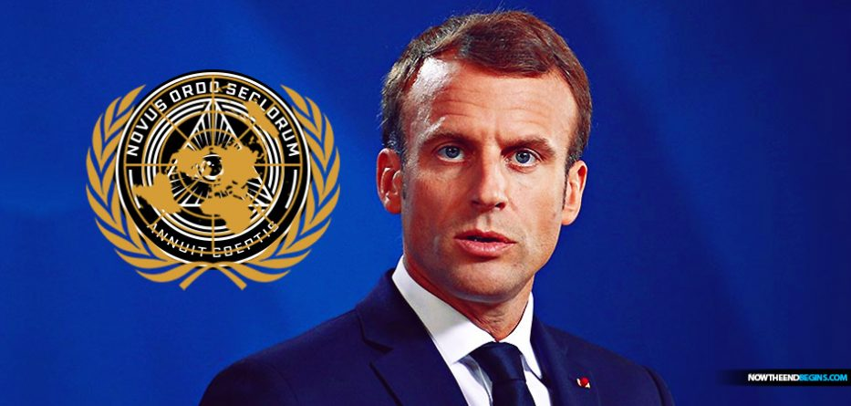 42-year-old president of France, Emmanuel Macron, who has faced many challenges governing his country, is now positioning himself to take over the mantle of global New World Order leader.