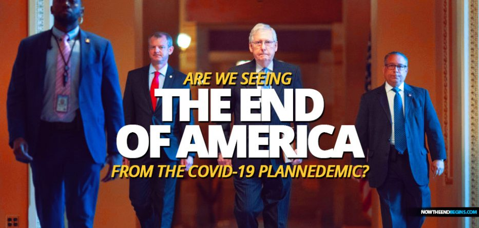Senate Majority Leader Mitch McConnell said Wednesday he favors allowing states struggling with high costs amid the burdens of the coronavirus response to declare bankruptcy rather than giving them a federal bailout from the COVID-19 Plannedemic.