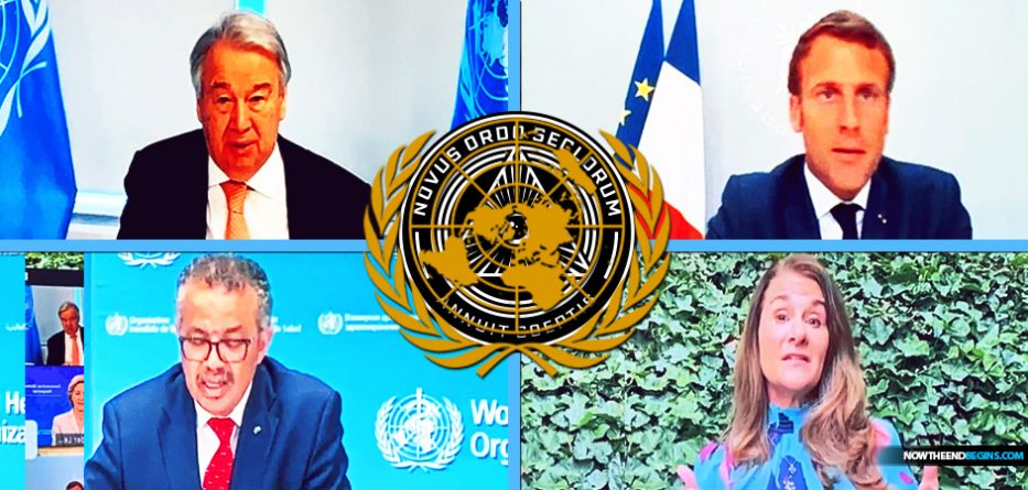 Today the United Nations unveiled its COVID-19 Global Vaccination Response Team, and who do we see at the top of the food chain? French president Emmanuel Macron, who has already declared his desire to lead the New World Order, and Melinda Gates who wants to give everyone a vaccination and digital ID.