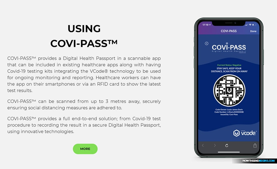 WHAT IS COVI-PASS™ COVI-PASS™ is a secure Digital Health Passport which displays your Covid-19 test history and immunoresponse and other relevant health information.