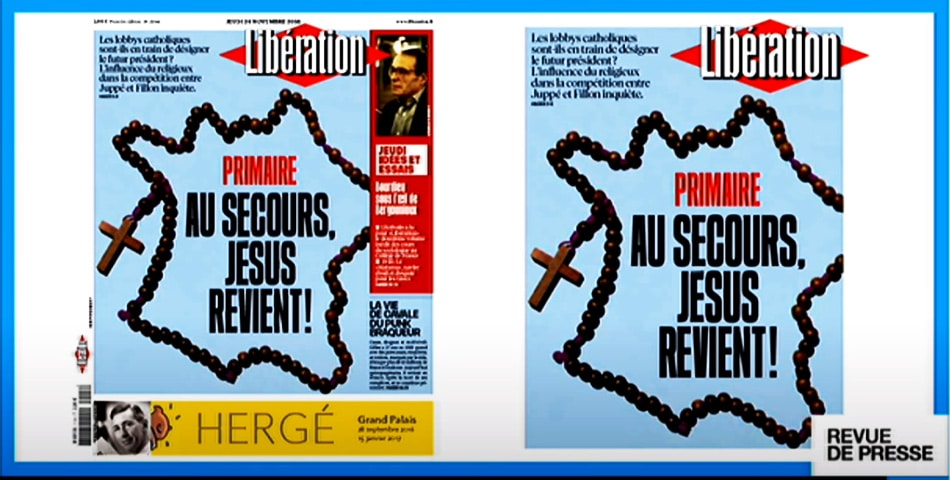 "Emmanuel Macron's Catholicism was such a strong part of his political identity that a headline in the newspaper Libération proclaimed: ""Help, Jesus has returned!"""