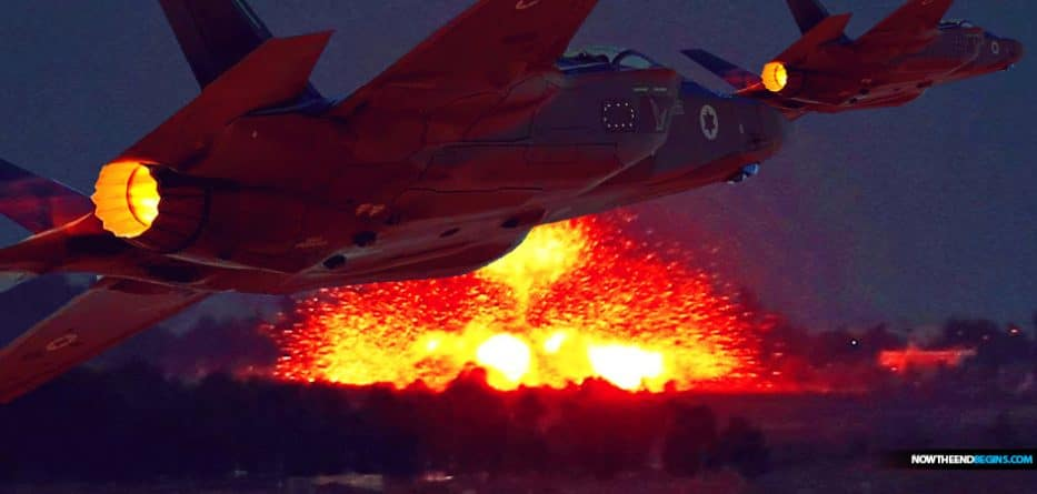 Alleged Israeli airstrikes in eastern Syria killed at least 14 Iranian warfighters and allied militiamen, a war monitor reported Tuesday.