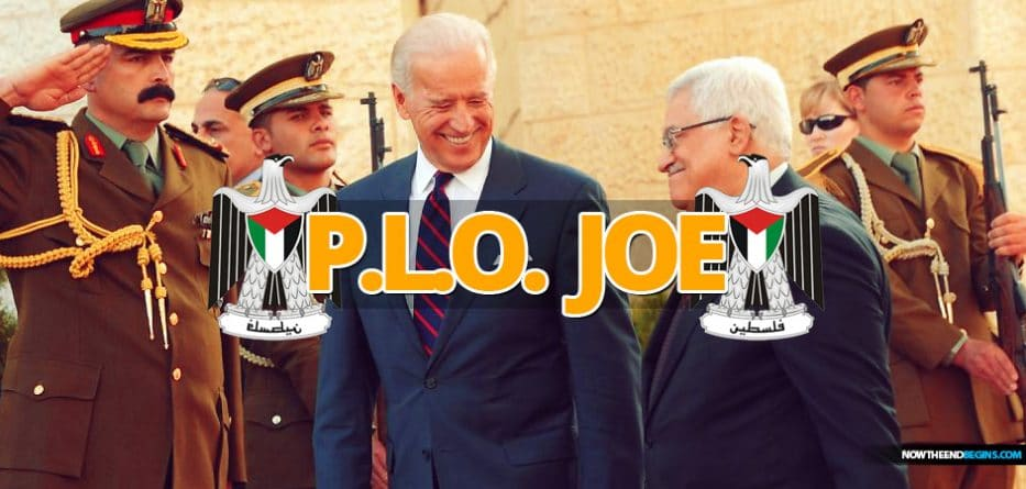 "Joe Biden that he would reopen the US Consulate in east Jerusalem ""to engage the Palestinians, and the PLO Palestine Liberation Organization terror group"