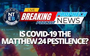 On this episode of the NTEB Prophecy News Podcast, we are looking into the 'beginning of sorrows' in Matthew 24, with some of the only verses in the entire chapter that can be rightly divided and applied to the Church Age, and examine the COVID-19 phenomenon in light of the prophesied 'pestilences' that Jesus said would precede the time of Jacob's trouble. Our time.