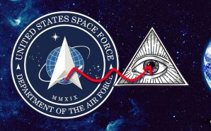 The U.S. Space Force — the newest branch of the armed services — now has its own flag, but there is just one, tiny problem. It features the All-Seeing Eye of the Illuminati in the logo.
