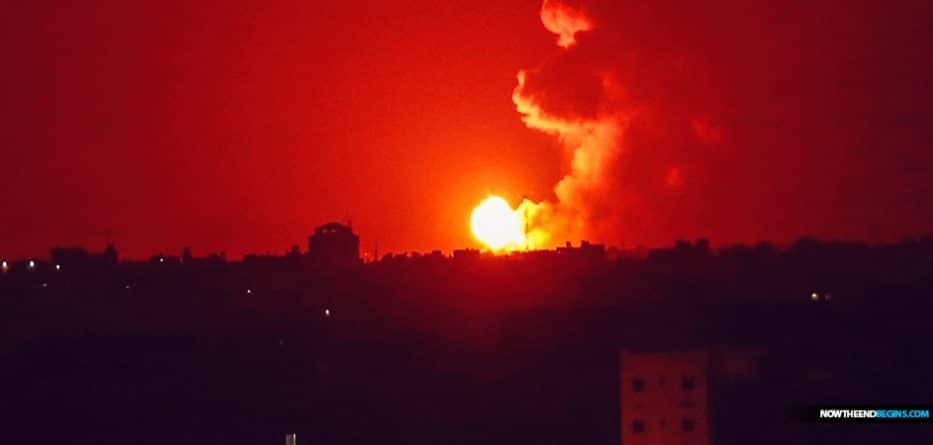 israel-idf-hits-hamas-gaza-strip-after-rocket-attack