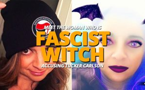antifa-fascist-witch-cathy-areu-twitter-bluecheck-accuses-tucker-carlson-fox-news-sexual-misconduct-radical-left