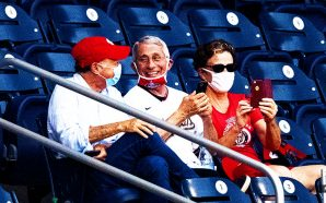 fauci-the-fraud-washington-nationals-baseball-game-no-mask-social-distancing-first-pitch