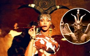 beyonce-as-baphomet-satan-devil-worship-illuminati-disney-black-is-king