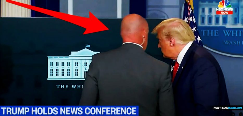 president-trump-removed-from-briefing-after-secret-service-shoot-armed-man-trying-to-gain-access-white-house-august-10-2020
