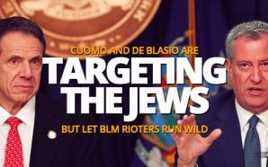 cuomo-de-blasio-targeting-orthodox-jews-covid-lockdown-but-let-blm-black-lives-matter-terrorists-run-wild
