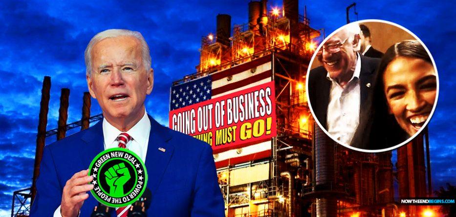democrat-joe-biden-vows-to-phase-out-oil-industry-bring-in-aoc-socialist-green-new-deal-bernie-sanders