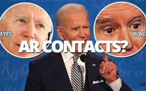 did-joe-biden-use-ar-vr-contact-lenses-in-debate-donald-trump-nteb