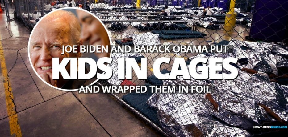 joe-biden-barack-obama-really-did-put-immigrant-children-in-cages-wrapped-in-tin-foil-2014-democrats