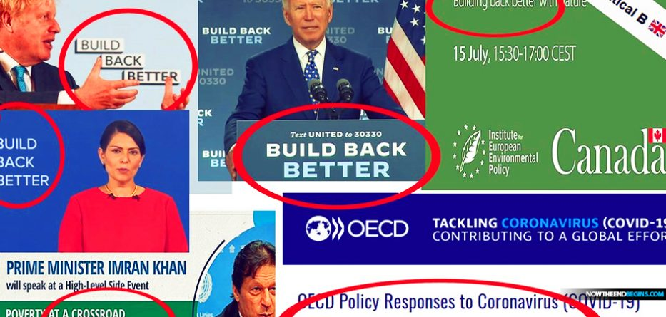 JOE BIDEN'S ODD-SOUNDING CAMPAIGN SLOGAN 'BUILD BACK BETTER' WAS ACTUALLY TAKEN FROM UNITED NATIONS NEW WORLD ORDER AGENDA