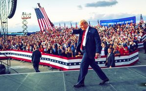 president-trump-arrives-maskless-florida-orlando-sanford-miami