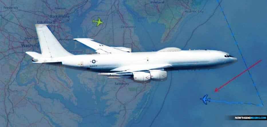 two-boeing-e-6b-mecury-aircraft-doomsday-planes-launched-as-news-president-trump-covid-diagnosis-revealed-stratcom-wwiii