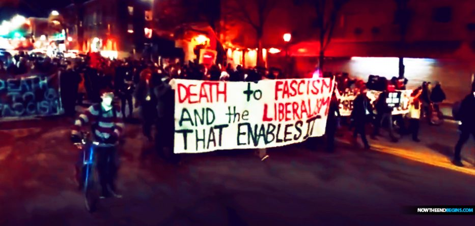 antifa-rioters-denver-colorado-arrested-chanting-no-borders-walls-usa-at-all-brown-shirts-democrats