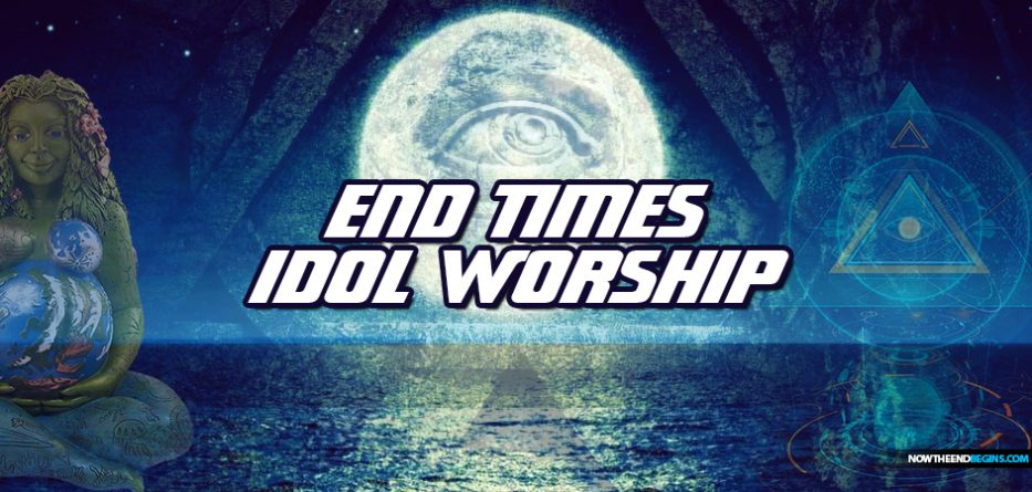 end-times-worship-service-after-pretribulation-rapture-church-one-world-religion-antichrist