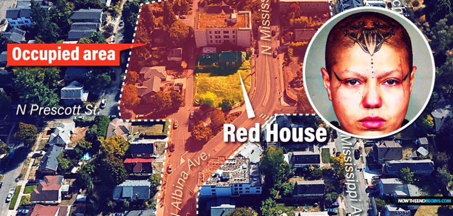 antifa-red-house-autonomous-zone-portland-oregon-militants