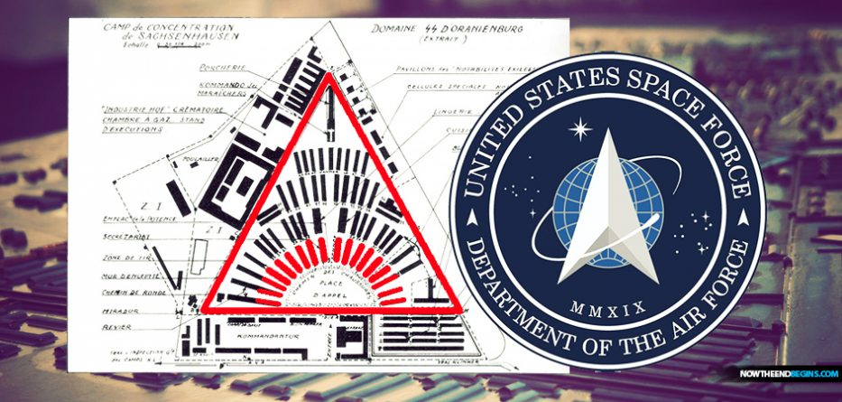 sachsenhausen-first-model-nazi-concentration-camp-1936-space-force-logo-similiarities-all-seeing-eye