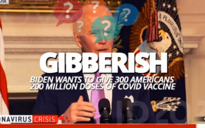 joe-biden-spouts-gibberish-300-americans-to-get-200-million-doses-covid-19-coronavirus-cognitive-decline